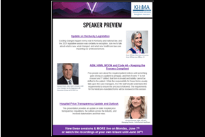 Early Bird Registration Has Been Extended for the KHIMA Annual Meeting!